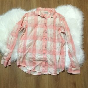 BROADWAY AND BROOM BY MADEWELL PINK FLANNEL